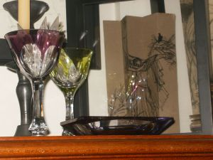 Glauco Rodrigues e copos