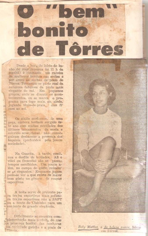 Veranear em TORRES 1960