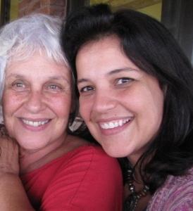 Odila Eu e a Joana  Torres 2012