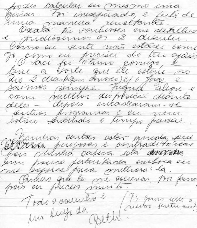cartas do passado