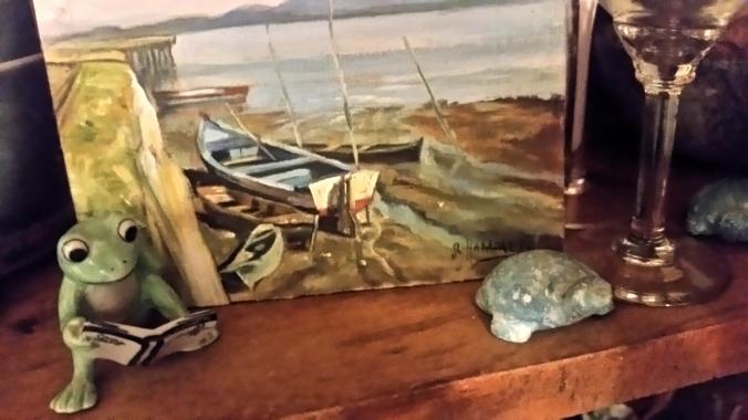 também boa esta foto da marinha e do sapo