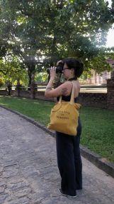 Lu fotografando