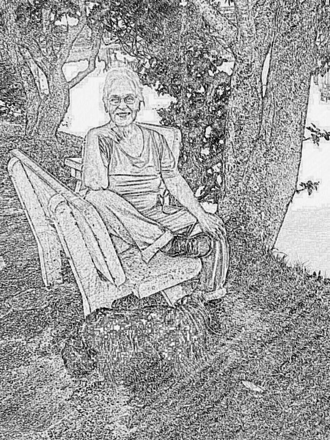 desenho de maio na lagoa com a Magda