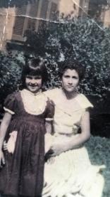 Joaquina e eu pequena