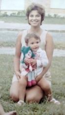 ANA e eu com a boneca