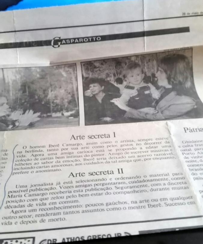 IBERÊ CAMARGO NOTÍCIA