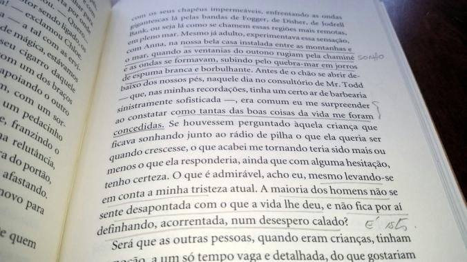 O MAR texto LEITURA