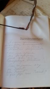 Proust texto escritos meus e óculos