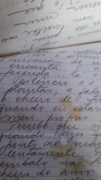 carta antiga velha