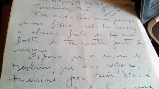 outra carta saudosa de Iberê
