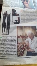 Garagem de ARTE notícias de jornal LERINA