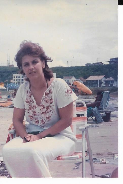 Beth na praia