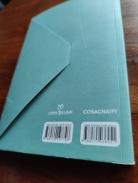 livro azul capa experna de trás